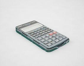 casio fx570s 3D model
