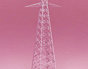 Power Tower Transmission 3D