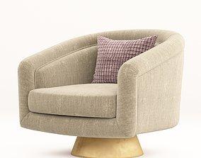 Jonathan Adler Bacharach Swivel chair 3D