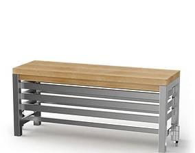 3D model Modern Metal Aestus Radiator Bench
