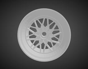 Forgiato Nido rims for Hot Wheels 3D printable model
