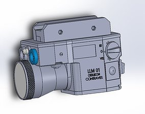 LLM 01 Laser Light Module 3d model games