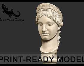 Printable bust of Hera