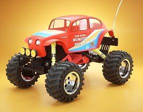 Monster Beetle toy car 3D