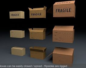 3D model Cardboard Boxes Mega Pack
