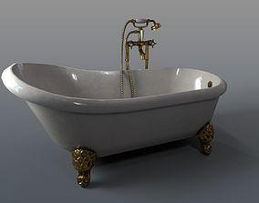 Antique Bathtub 3D model