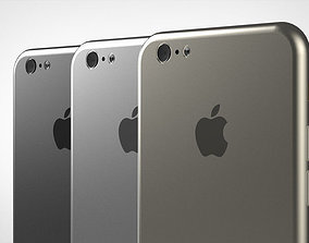 3D model iPhone 6 4 7 inch