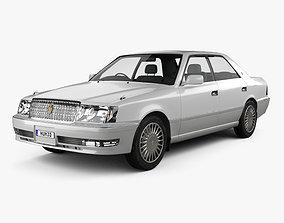 Toyota Crown hardtop 1997 3D
