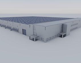 3D model Industrial Exterior 3