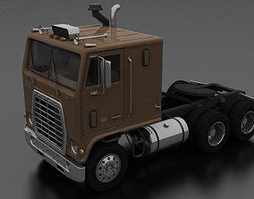 3D model WT-9000 Semi Truck 1974