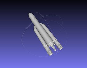 orbital-booster Ariane 5 Rocket Printable Miniature