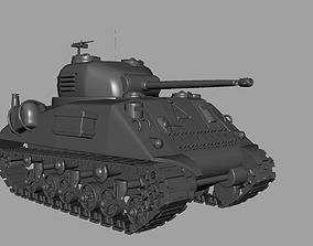 M4 Sherman Tank heavy 3D