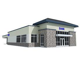 Bank Building exterior-public 3D