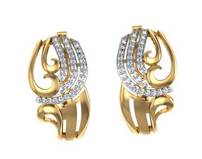 3D print model Earrings Ornate set