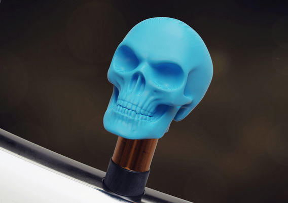 Skull valve cap for Schrader valves