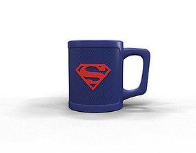Superman cup 3D printable model