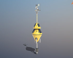 Weather Data Buoy 3D model