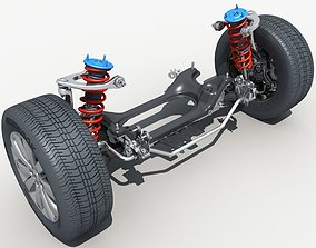 3D model Car Suspension 01