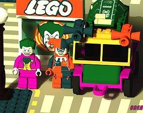 3D asset LEGO Joker And Harley Quinn