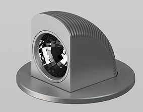 3D Grey Lamp