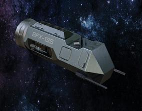 Spaceship Frigate BFX-135 3D model