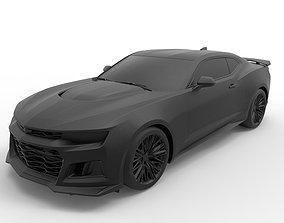 3D printable model Chevrolet Camaro ZL1