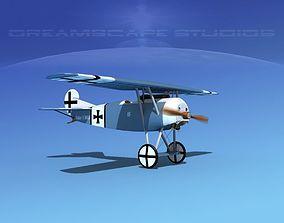 3D Fokker DVIII V12