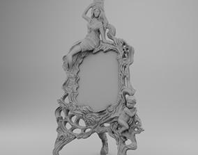 3D printable model Medieval mirror