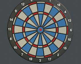 Darts Table 3D asset