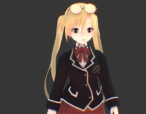 Selina Sherlock 3D model