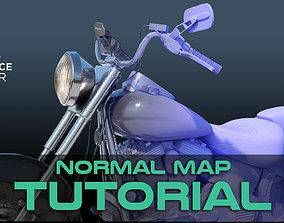 Normal Maps - Substance Painter Tutorial 3D