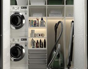 Laundry room laundry 3D model
