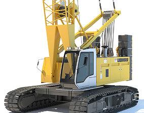 3D Liebherr Crawler Crane LR 1100