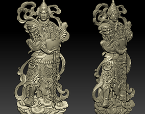 Chinese ancient general 3D printable model