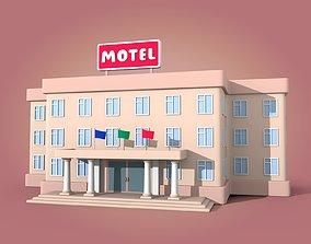 3D Cartoon Motel