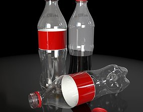 3D PBR Plastic Bottle