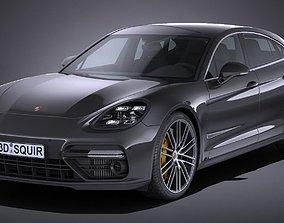 Porsche Panamera Turbo 2017 3D