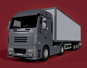 Generic Container - Box Truck transport 3D