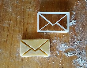3D print model Letter cookie cutter