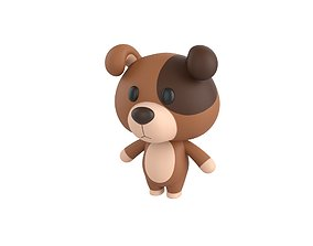 Character057 Dog 3D