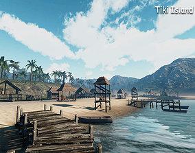 3D model Tiki Island Updated