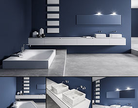 Bathroom furniture set Panta Rei 3D