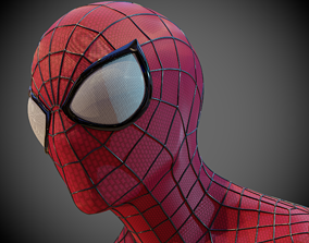 The Amazing Spider-Man Faceshell 3D print model