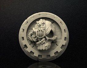 3D print model Adeptus Mechanicus Logo