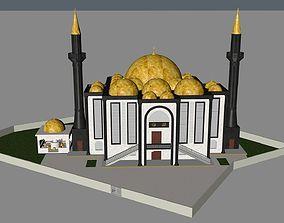 muslim mosque 3d model