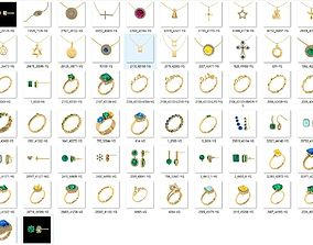 3D printable model Mix Jewelry in bulk-0001