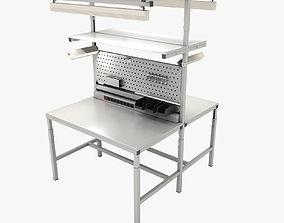 3D Dual adjustable working table repair
