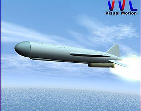 3D model KN-01 Cruise Missile