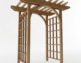 3D Arbor Trellis Style 1