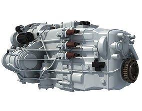 3D model Transmission Gearbox